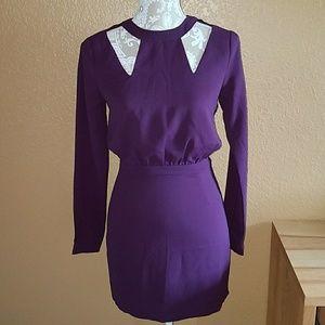 New cut out back sheath dress sz 0 Sparkle & Fade